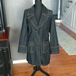 Bisou bisou denim jacket